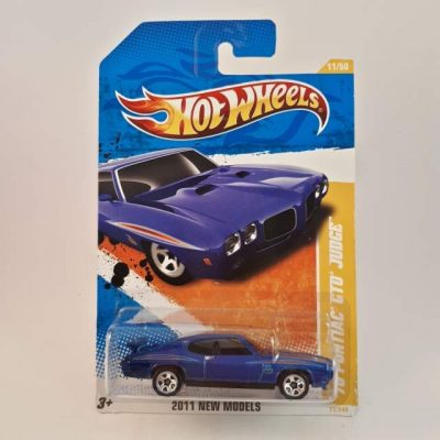 HOTWHEELS '011 70 PONTIAC GTO JUDGE