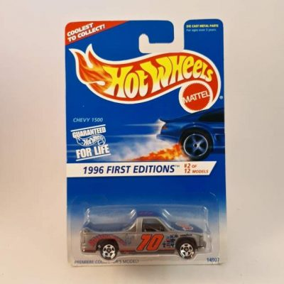 HOTWHEELS 1996 FIRST EDITIONS CHEVY 1500 #2-12