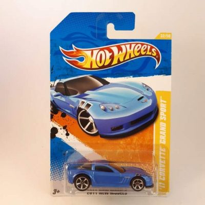 HOTWHEELS '11 CORVETTE GRAND SPORT