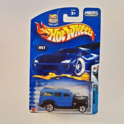 HOTWHEELS '40 WOODY WILD WAVE