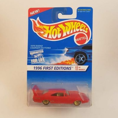 HOTWHEELS '96 FIRST EDITON 1970 DODGE CHARGER DAYTONA #3-12