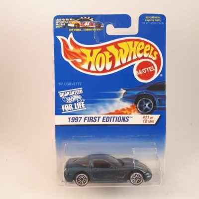 HOTWHEELS '97 FIRST EDITION CORVETTE #11-12