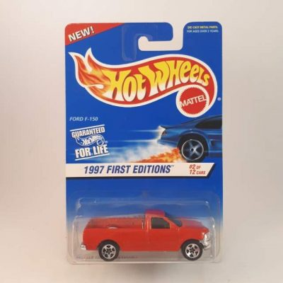 HOTWHEELS '97 FIRST EDITIONS FORD-F150 #2-12