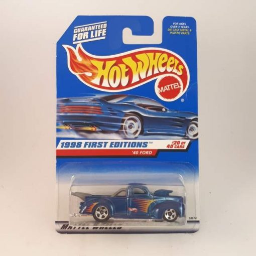 HOTWHEELS '98 FIRST EDITIONS '40 FORD #20-40-