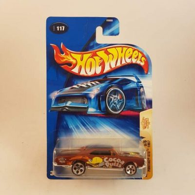 HOTWHEELS CEREAL CRUNCHHERS PONTIAC GTO '67 #5-5