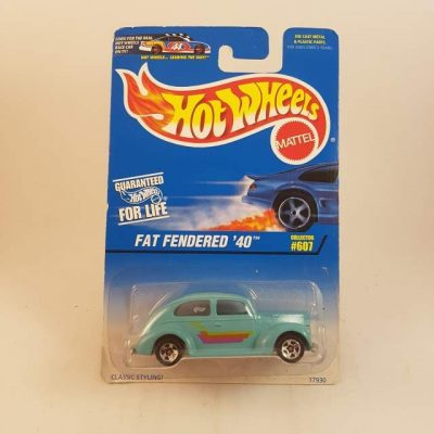 HOTWHEELS FAT FENDERED'40 #607