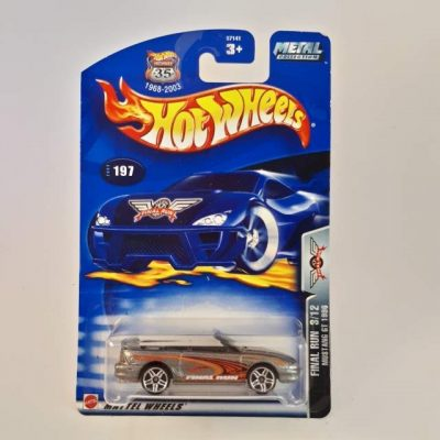 HOTWHEELS FINAL RUN MUSTANG GT 1996