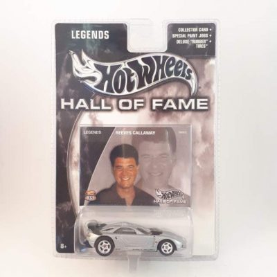 HOTWHEELS HALL OF FAME REEVES CALLAWAY LEGENDS