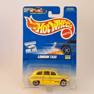 HOTWHEELS LONDON TAXI # 619