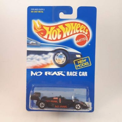 HOTWHEELS NO FEAR RACE CAR NEW MODEL #244
