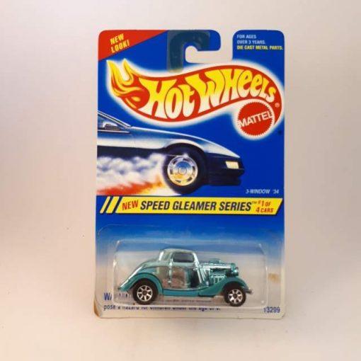 HOTWHEELS SPEED GLEAMER SERIES #1 OF 4 CARS