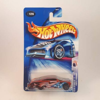 HOTWHEELS STAR SPANGLED 2 PURPLE PASSION '04 #4-5