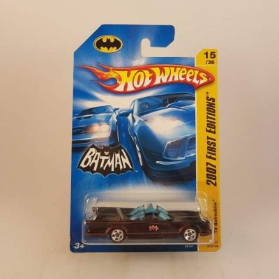 HOTWHEELS TV BATMOBILE '07 FIRST EDITION