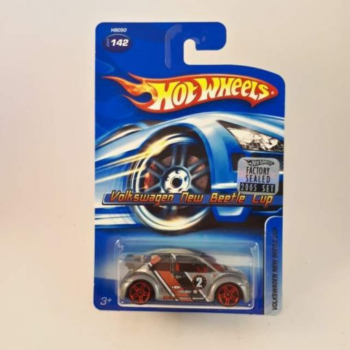HOTWHEELS VOLKSWAGEN NEW BEETLE CUP 2005 SET