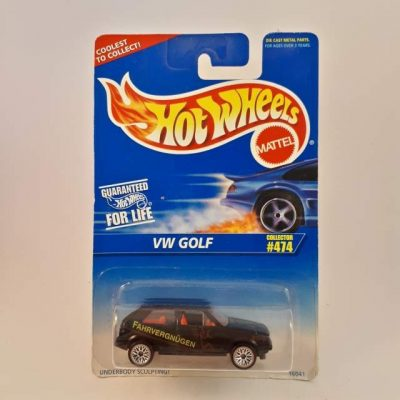HOTWHEELS VW GOLF # 474 COLLECTOR