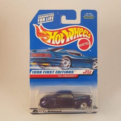 HOTWHEELS 1998 FIRST EDITIONS TAIL DRAGGER #24-40