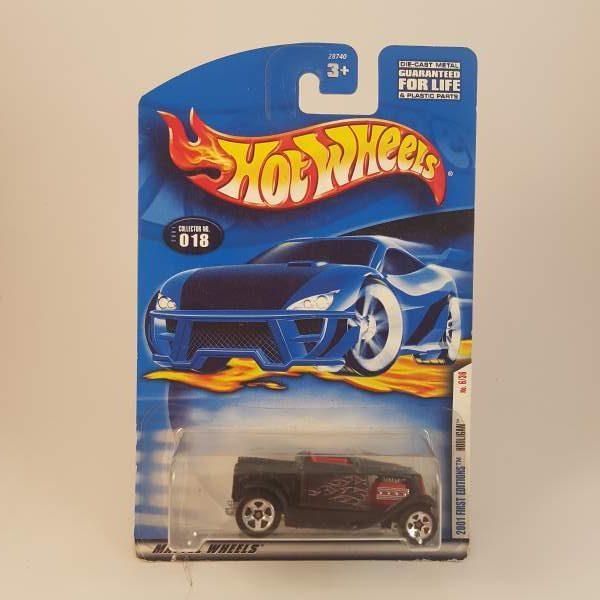 hotwheels 2001 first editions hooligan #018 - hot wheels & diecast