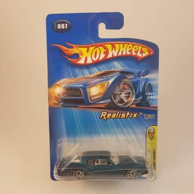 HOTWHEELS 2005 FIRST EDITIONS '71 BUICK RIVIERA REALISTIX #007