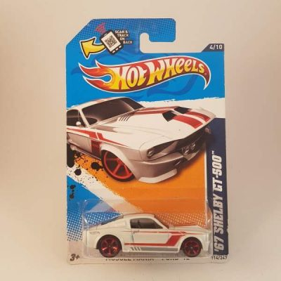 HOTWHEELS '67 SHELBY GT-500 MUSCLE MANIA-FORD #4-10