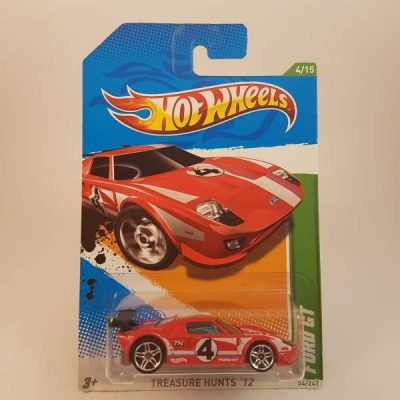 HOTWHEELS FORD GT 2012 T-HUNT #4-15