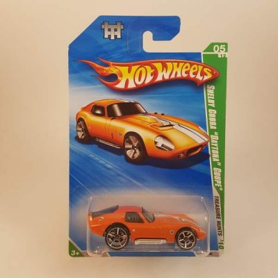 HOTWHEELS SHELBY COBRA DAYTONA COUPE 2010 T-HUNT