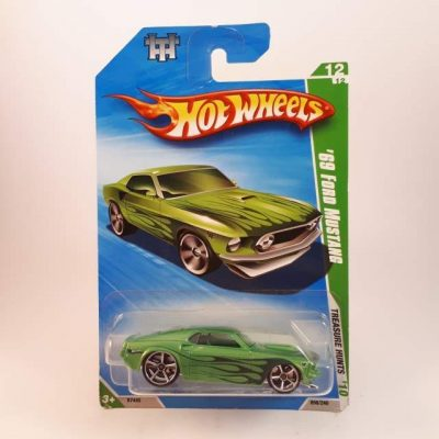 HOTWHEELS T-HUNT '69 FORD MUSTANG #12-12