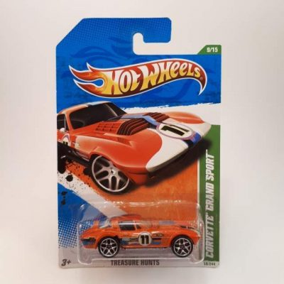 HOTWHEELS T-HUNT CORVETTE GRAND SPORT #9-15