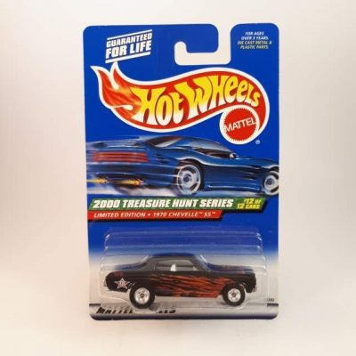 HOTWHEELS T-HUNT LIMITED EDITION 1970 CHEVELLE SS #12-12
