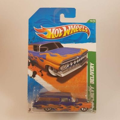 HOTWHEELS TREASURE HUNT 2011 '59 CHEVY DELIVERY #15-15