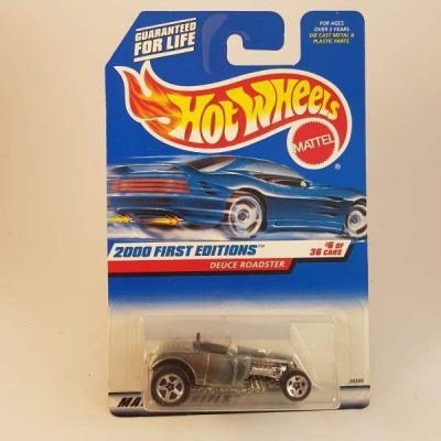 HOTWHEELS ZAMAC 2000 FIRST EDITION DEUCE ROADSTER #6-36