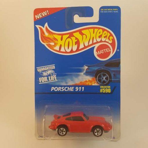 HOTWHEELS PORSCHE 911 #590