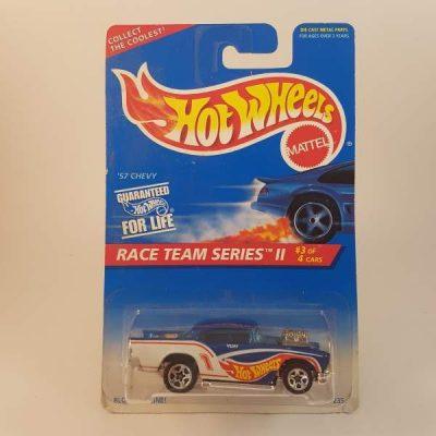 HOTWHEELS '57 CHEVY RACE TEAM SERIES II