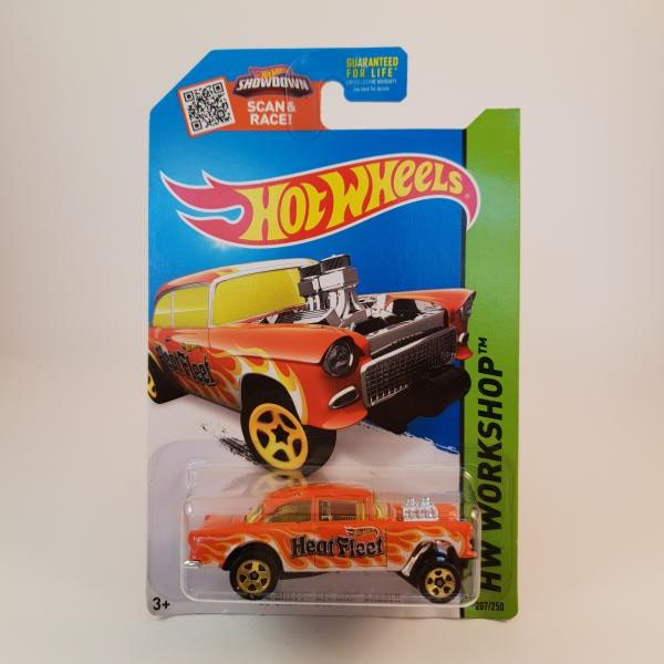 Hot Wheels 55 Chevy Bel Air Gasser 207 250 Hot Wheels Diecast