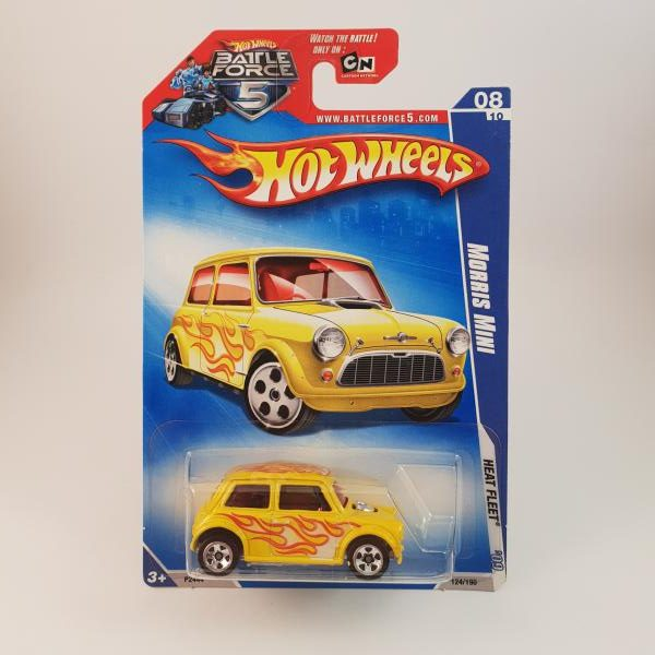 Hot Wheels Morris Mini Heat Fleet Hot Wheels Diecast