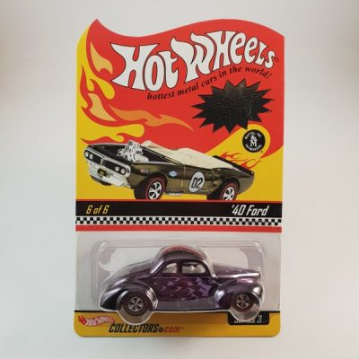 HOTWHEELS '40 FORD 10 500 IN THE WORLD