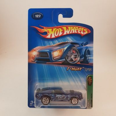 HOTWHEELS MUSTANG MACH 1 T-HUNT REAL RIDERS CARD IS NOT MINT