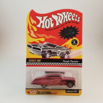 HOTWHEELS PURPLE PASSION 10 000 IN THE WORLD