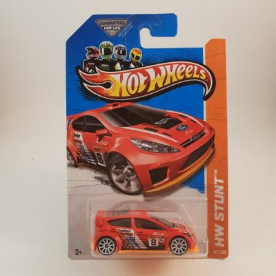 HOTWHEELS '12 FORD FIESTA RED