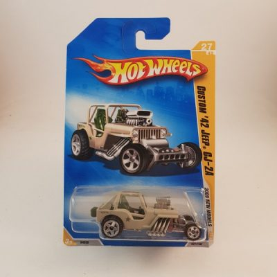 HOTWHEELS CUSTOM '42 JEEP CJ-2A