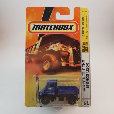 MATCHBOX MERCEDES-BENZ UNIMOG U300