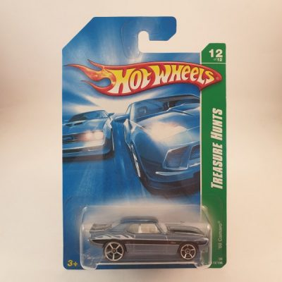 HOT WHEELS '69 CAMARO T-HUNT