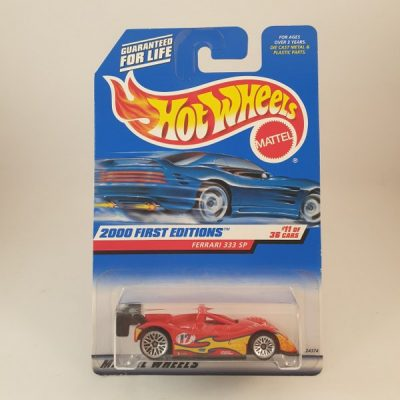 HOT WHEELS FERRARI 333 SP FIRST EDITIONS #071