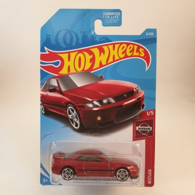 HOT WHEELS NISSAN SKYLINE GT-R(BCNR33)
