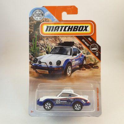 MATCHBOX '85 PORSCHE 911 RALLY