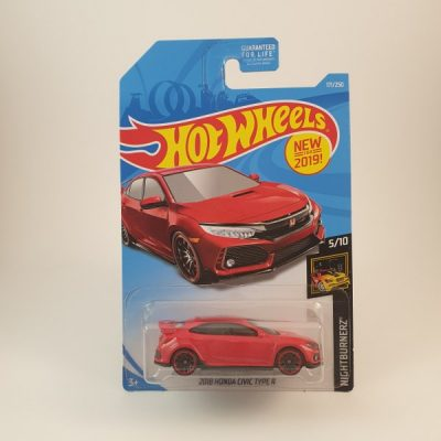 HOT WHEELS 2018 HONDA CIVIC TYPE R