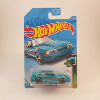 HOT WHEELS '92 FORD MUSTANG