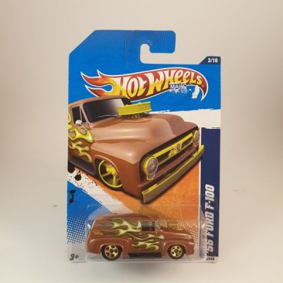 HOT WHEELS '56 FORD F-100 BROWN