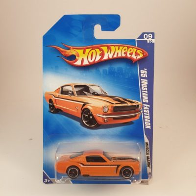 HOT WHEELS '65 MUSTANG FASTBACK
