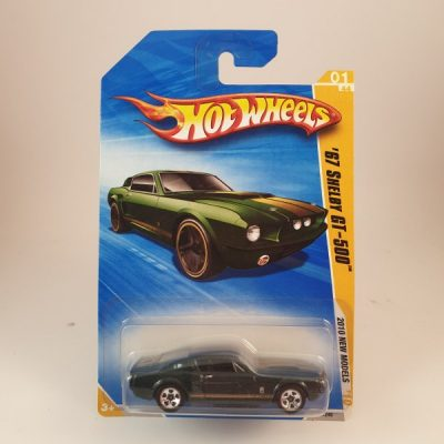 HOT WHEELS '67 SHELBY GT-500