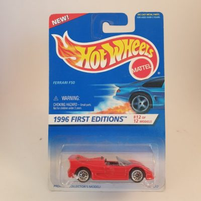 HOT WHEELS FERRARI F50 #377